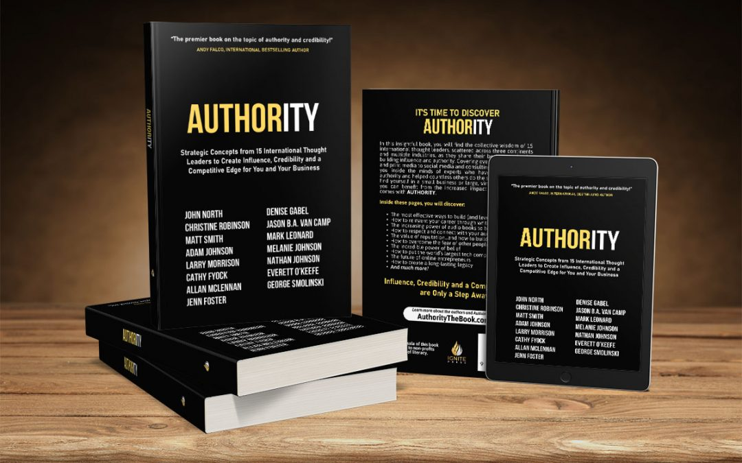 BOOK RELEASE – AUTHORITY: STRATEGIC CONCEPTS FROM 15 INTERNATIONAL THOUGHT LEADERS